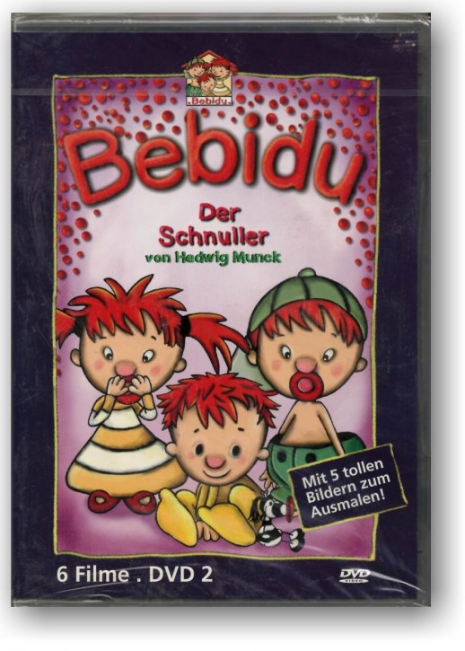 Bebidu - Der Schnuller - DVD 2 mit 6 Videos