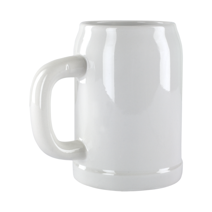 Bierkrug 0,5 l für den Sublimationsdruck