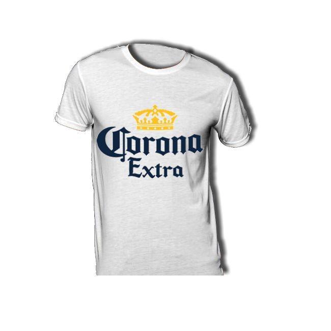 T-Shirt mit Corona-Beer-Logo