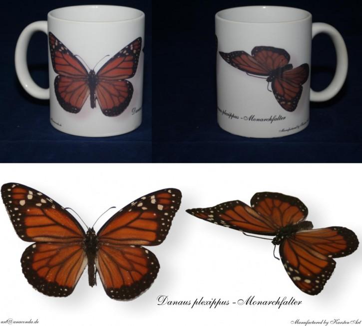 Danaus plexippus - Monarch Bild auf Fototasse