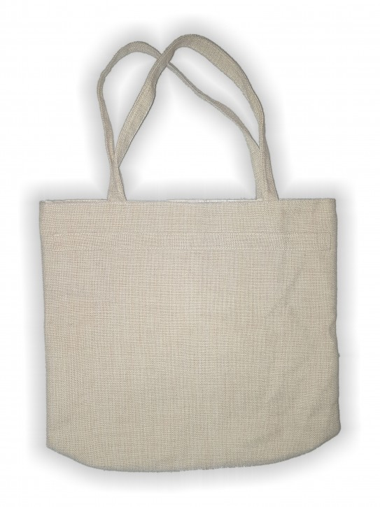 Einkaufstasche in Leinen- Optik für Sublimationsdruck