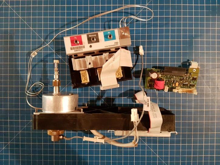 Flammenionisationsdetektor FID G1513A