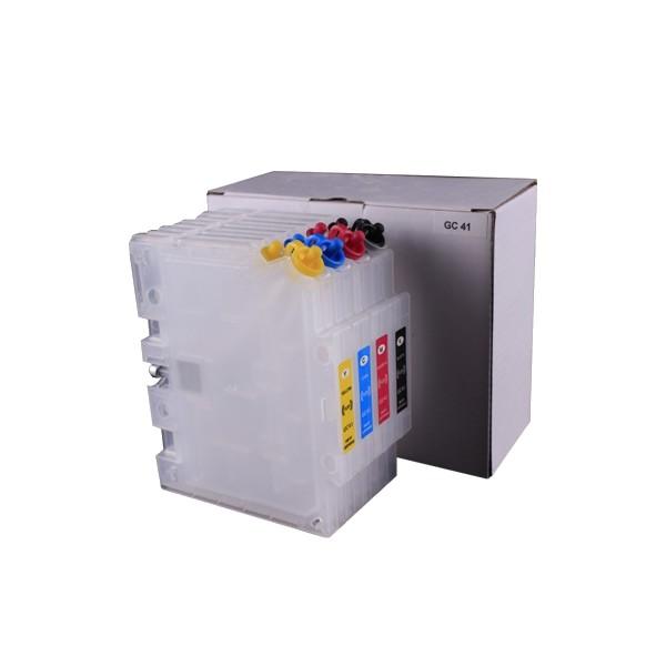 4x Easy- Refill Kartuschen GC-41 kompatibel für Ricoh® SG3110DN, SG2100N, SG7100DN
