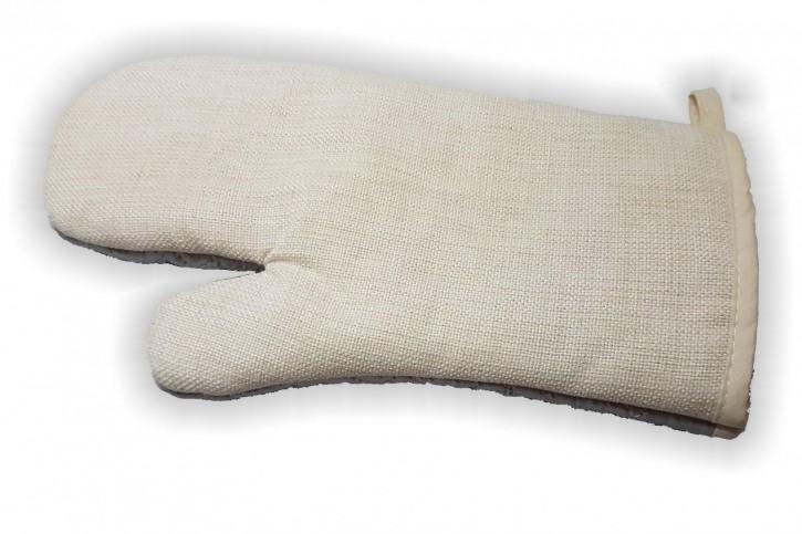 Grillhandschuh in Leinenoptik für Sublimationsdruck