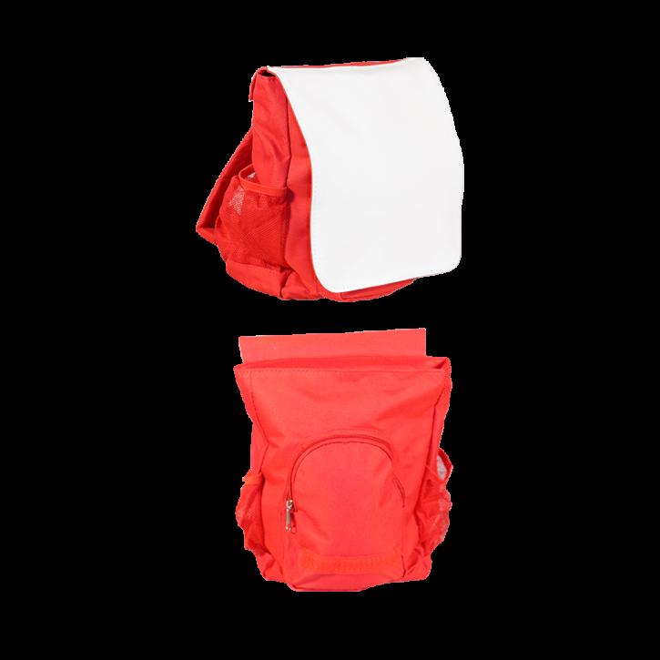 Kinderrucksack rot für den Sublimationsdruck