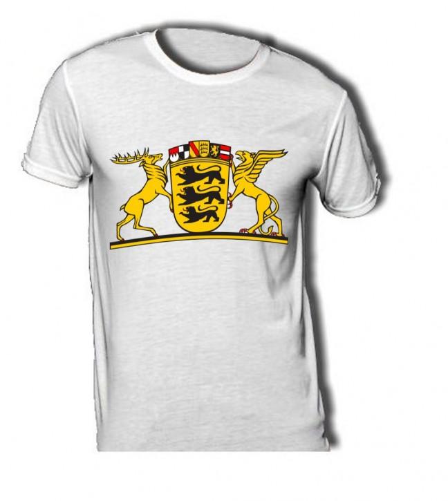 T-Shirt mit Wappen von Baden-Württemberg