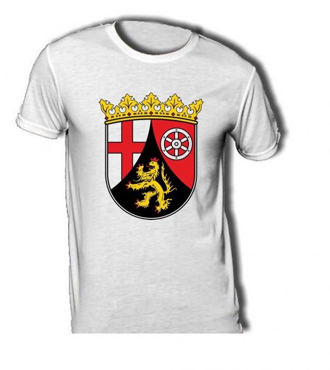 T-Shirt mit Wappen von Rheinland Pfalz