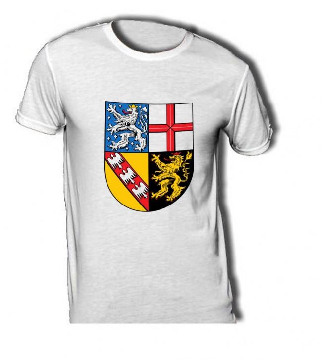 T-Shirt mit Wappen von Saarland