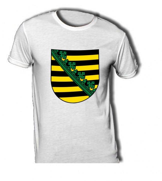 T-Shirt mit Wappen von Sachsen