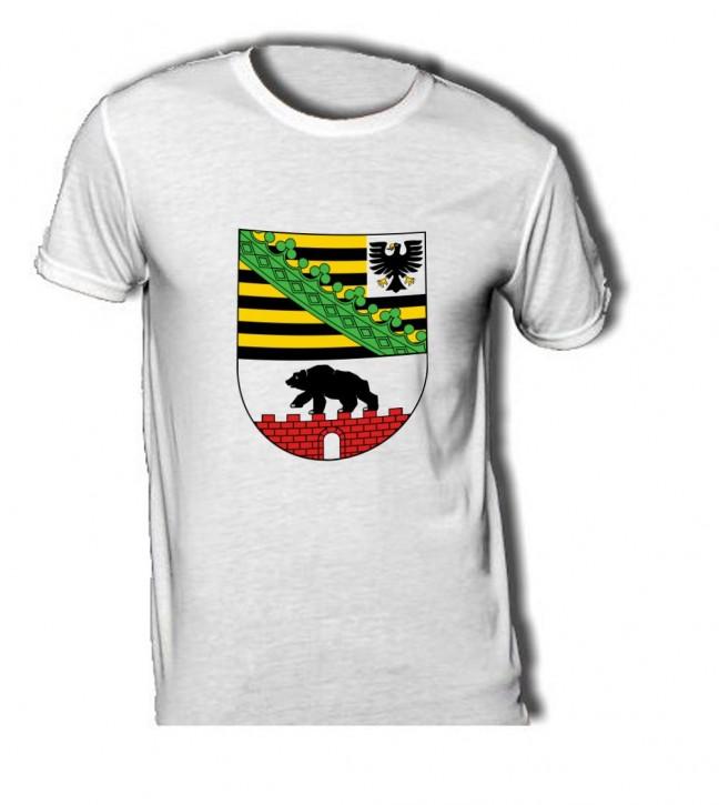 T-Shirt mit Wappen von Sachsen Anhalt