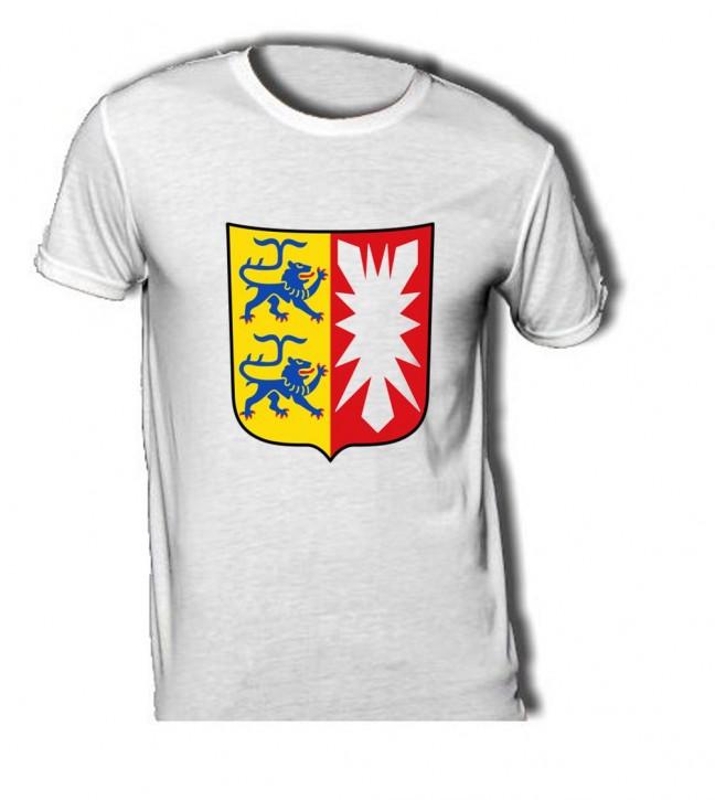 T-Shirt mit Wappen von Schleswig Holstein