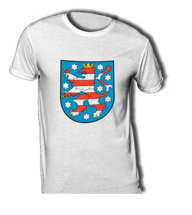 T-Shirt mit Wappen von Thüringen