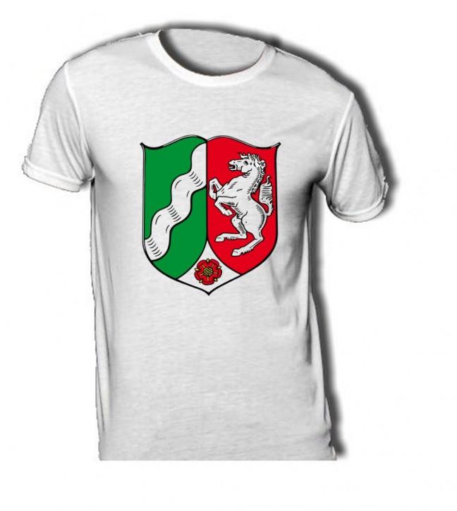T-Shirt mit Wappen von Nordrhein Westfahlen