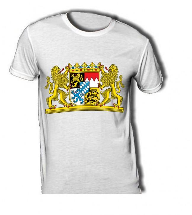 T-Shirt mit Wappen von Bayern