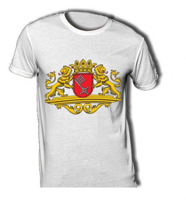 T-Shirt mit Wappen von Bremen