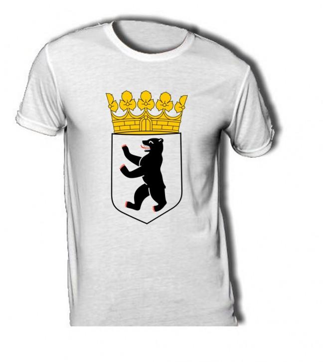 T-Shirt mit Wappen von Berlin S / 140 g/m²