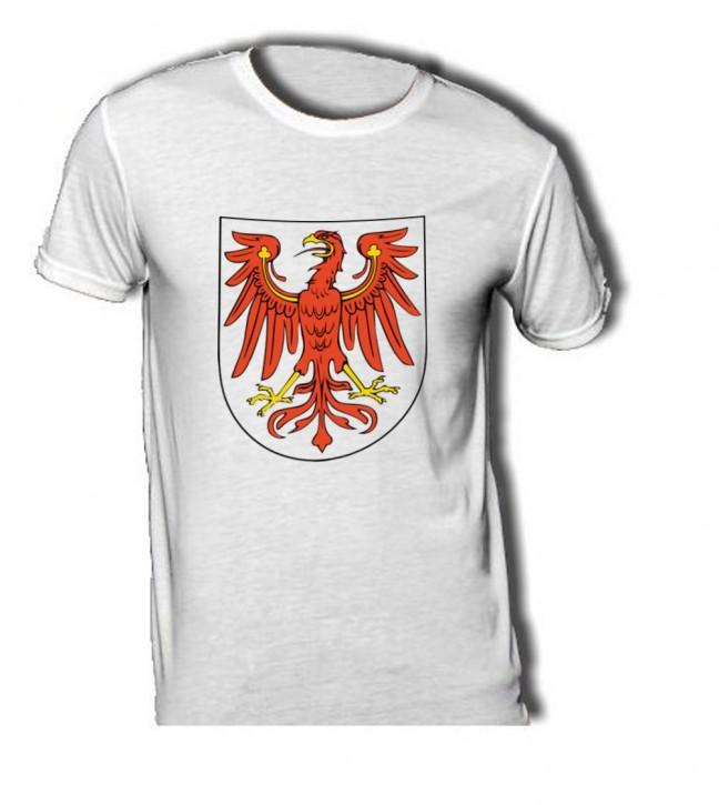 T-Shirt mit Wappen von Brandenburg