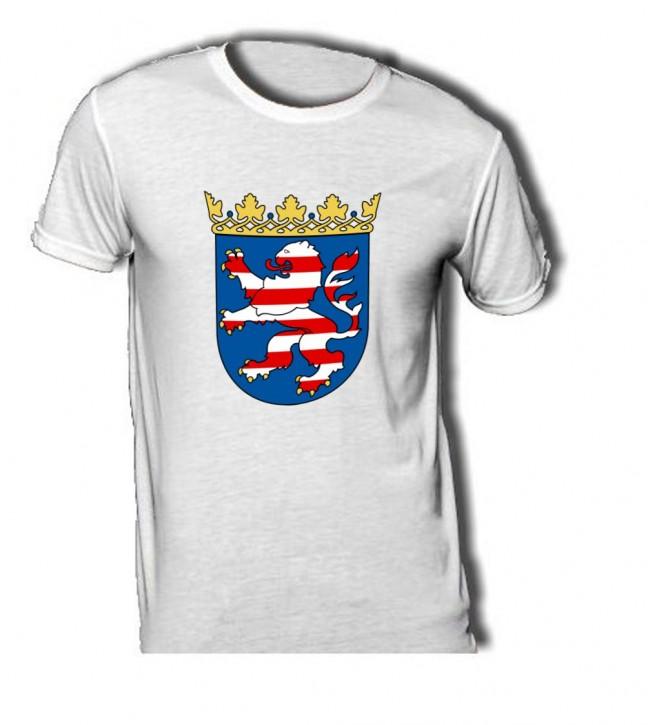 T-Shirt mit Wappen von Hessen