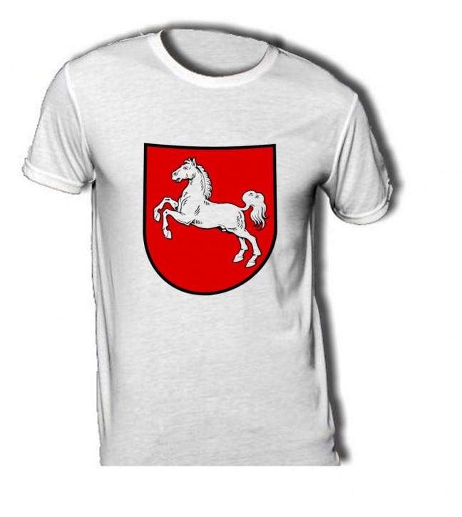 T-Shirt mit Wappen von Niedersachsen