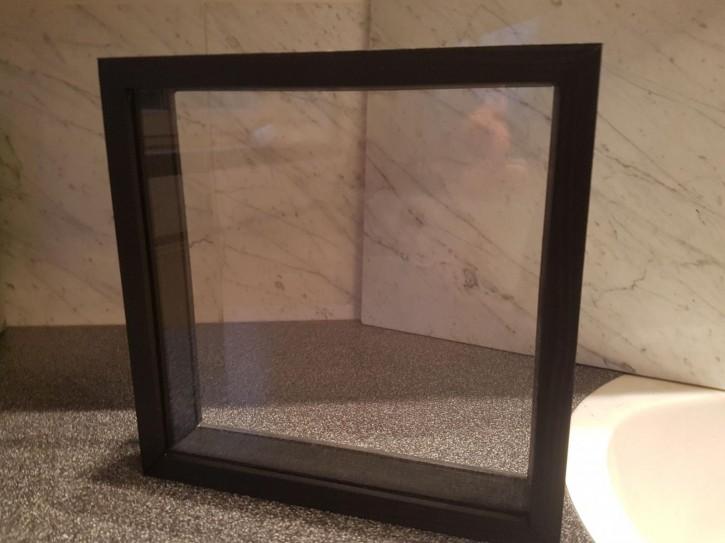 Doppelt verglaster Diorama-Schaukasten für Vitrine oder Wandaufhängung