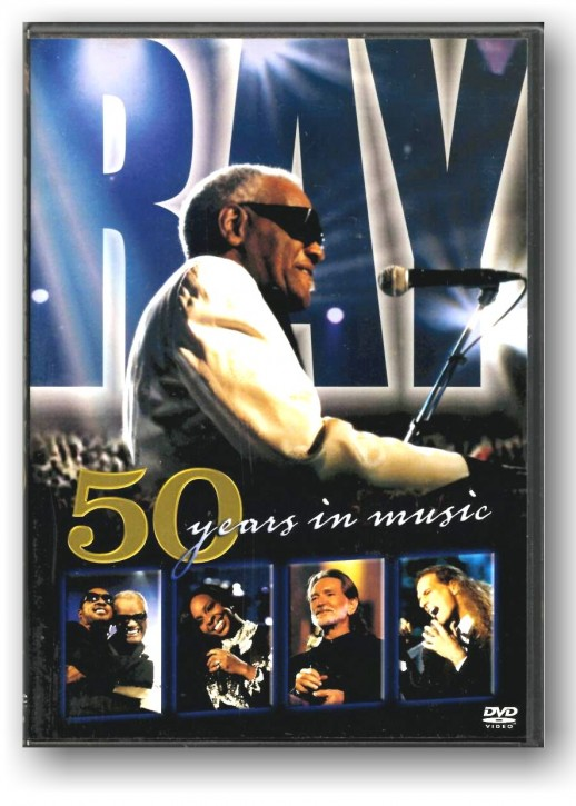 Ray Charles ‎– 50 Years In Music - DVD-VIDEO