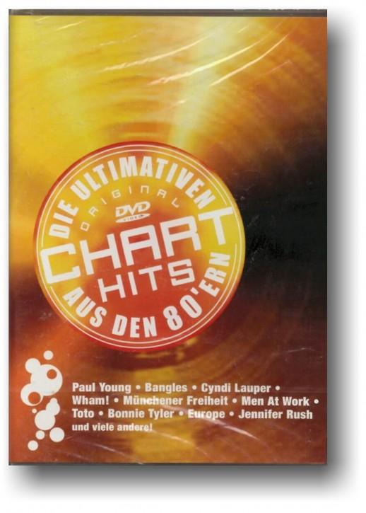 Die ultimativen Chart Hits aus den 80'ern - DVD mit interaktivem Menü