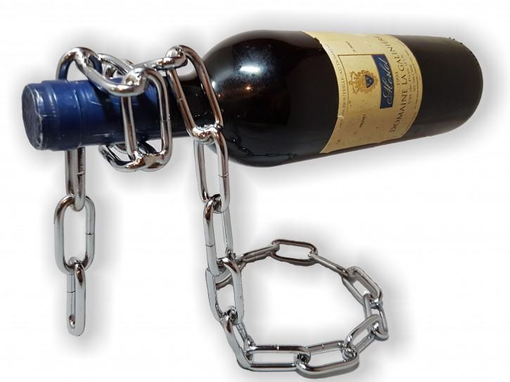 Stylischer Weinflaschenhalter Magische Kette