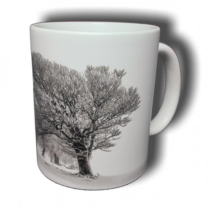 Winterlandschaft - Bild auf Fototasse Kaffeetasse Fotobecher
